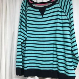 NWT stripped knit top